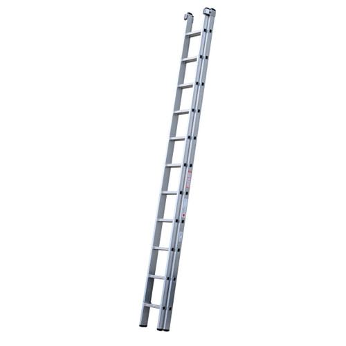 Youngman 570003 DIY 100 2 Section Extension Ladder 3.38 - 5.98 Metres - 2