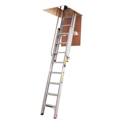 Buy Youngman 306340 Deluxe Loft Ladder 2 Section 14 Tread at Toolstop