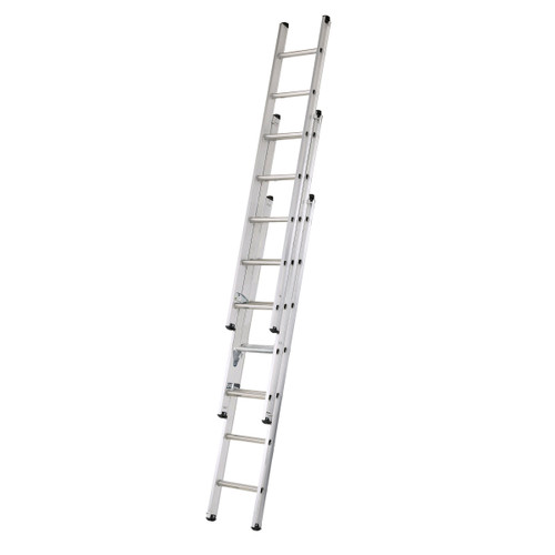 Buy Werner 77320 Triple Compact Extension Ladder 3 x 2.0 Metres (4.7m) at Toolstop