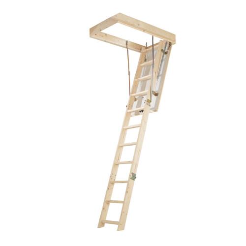 Buy Werner 76103 Timber Complete Loft Ladder Kit  at Toolstop