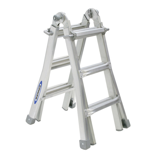 Werner 75053 2.88M Telescopic Combination Ladder MT12 (4x3)  - 4