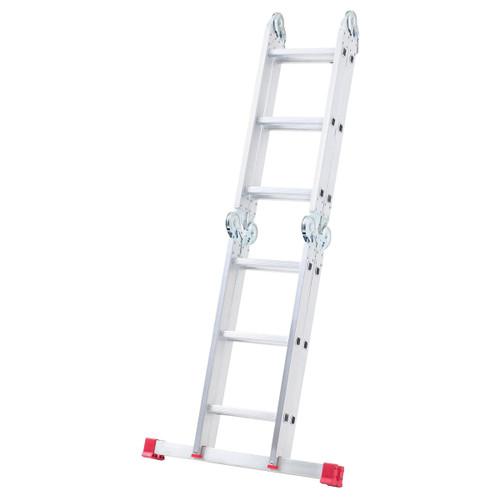 Werner 75012 12 Way Multi Purpose Combination Ladder With Platform (4x3) - 11