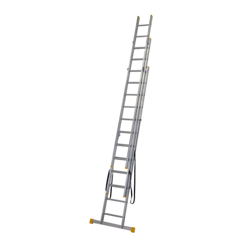 Werner 72535 3.5m Box Section Triple Extension Plus Ladder (x4) - 3