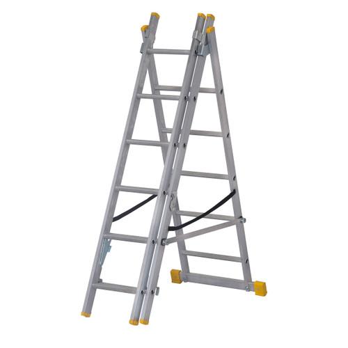 Werner 72518 1.8m Box Section Triple Extension Plus Ladder (x4) - 2