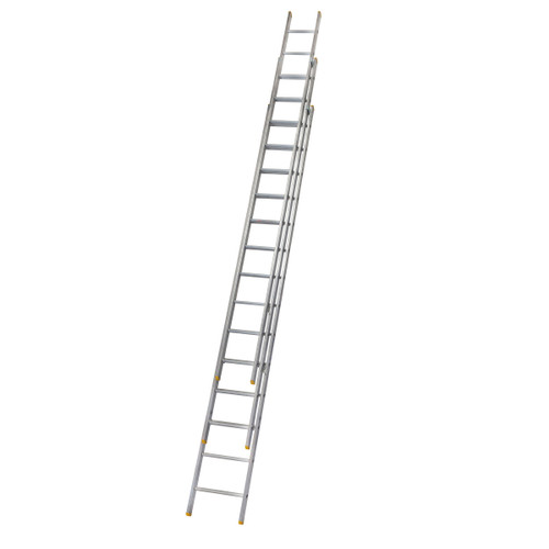 Buy Werner 72341 Triple Box Section Extension Ladder 3 x 4.09 Metres (10.21m) at Toolstop
