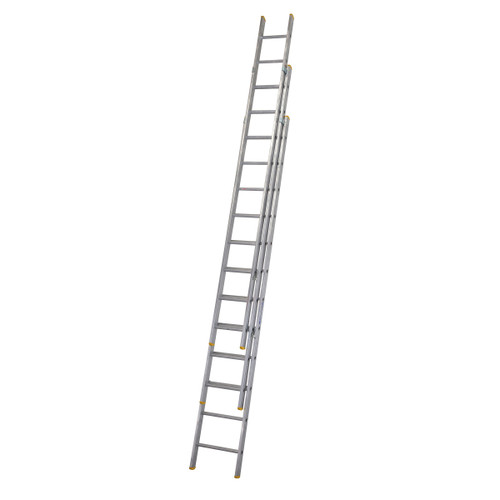 Buy Werner 72335 Triple Box Section Extension Ladder 3 x 3.53 Metres (8.53m) at Toolstop