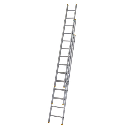 Buy Werner 72329 Triple Box Section Extension Ladder 3 x 2.97 Metres (6.85m) at Toolstop