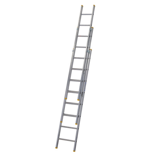 Buy Werner 72324 Triple Box Section Extension Ladder 3 x 2.4 Metres (5.17m) at Toolstop