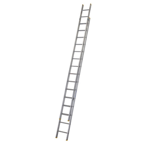 Buy Werner 72249 Double Box Section Extension Ladder 2 x 4.93 Metres (8.83m) at Toolstop
