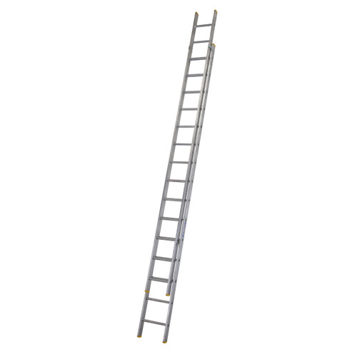Buy Werner 72244 Double Box Section Extension Ladder 2 x 4.37 Metres (8.27m) at Toolstop
