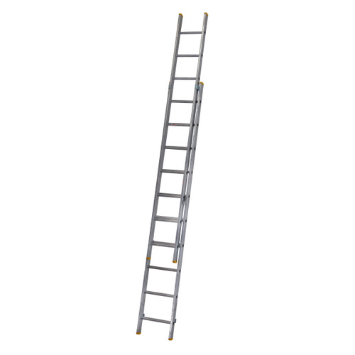 Buy Werner 72229 Double Box Section Extension Ladder 2 x 2.97 Metres (4.91m) at Toolstop