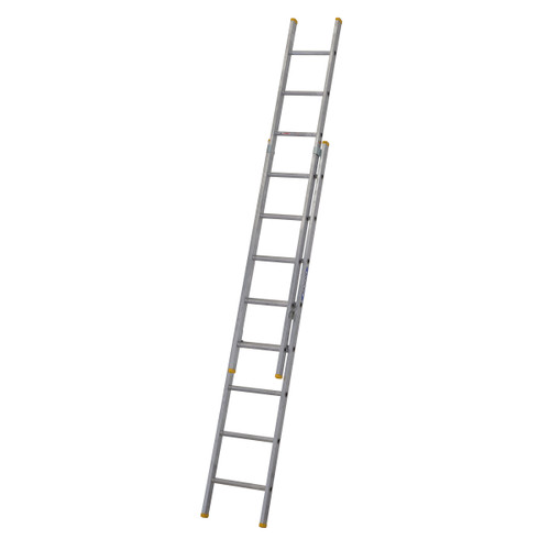 Buy Werner 72224 Double Box Section Extension Ladder 2 x 2.41 Metres (4.07m) at Toolstop