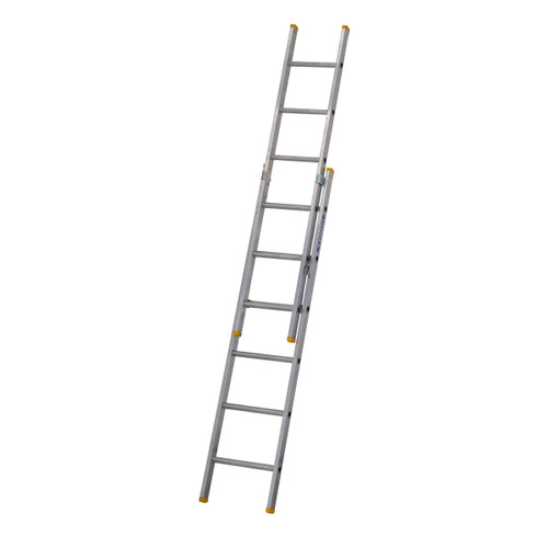 Buy Werner 72218 Double Box Section Extension Ladder 2 x 1.85 Metres (2.95m) at Toolstop