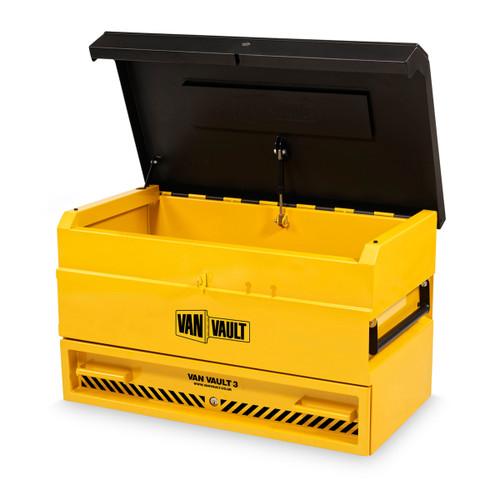 Van Vault 3 Site High Security Steel Storage Box S10345 (922 x 566 x 490mm) - 1