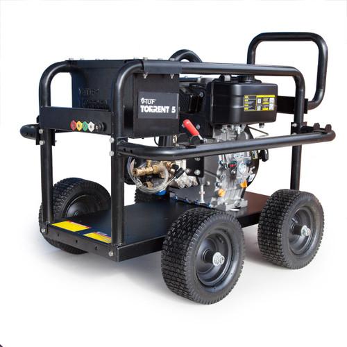 V-TUF TORRENT5 Industrial Diesel Trolley Mounted Pressure Washer 10HP 3000psi  - 4