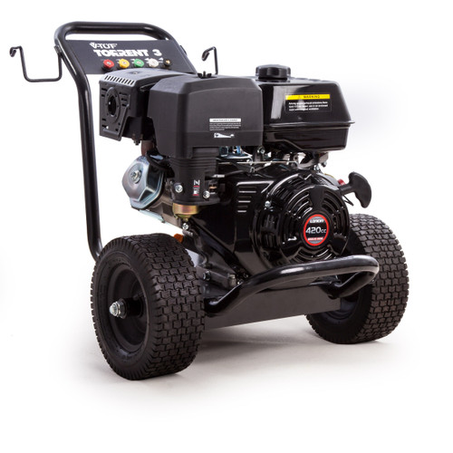V-TUF TORRENT3 Industrial Petrol Trolley Mounted Pressure Washer 13HP 4000psi  - 2