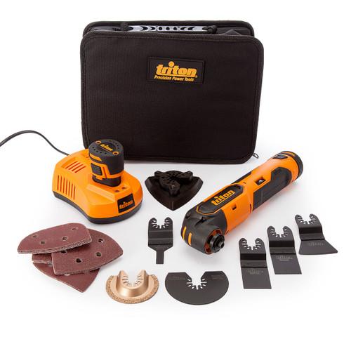 Triton T12OT Oscillating Multi-Tool 12V (103691) (2 x 1.5Ah Batteries) - 6