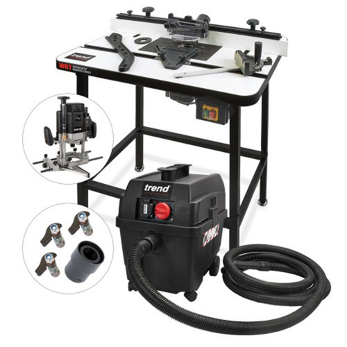 Buy Trend WRT/KIT/A 240V Ultimate Router Table Package at Toolstop