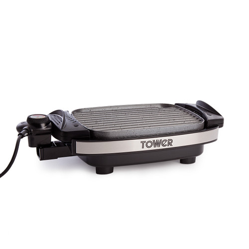 Tower T14019 Cerastone Reversible Grill - 6