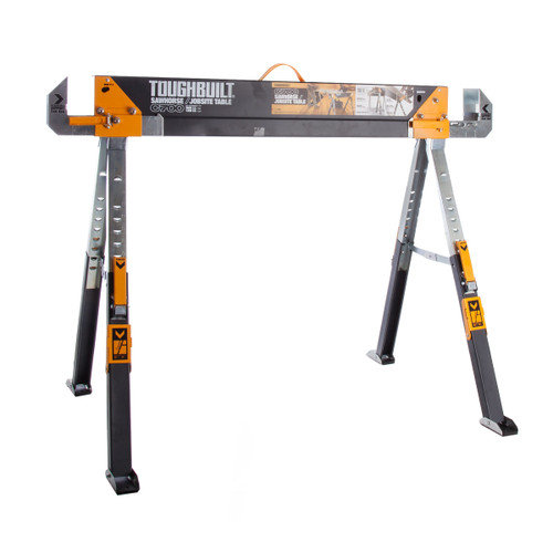 Toughbuilt C700 Saw Horse Adjustable Jobsite Table x 1 - 1