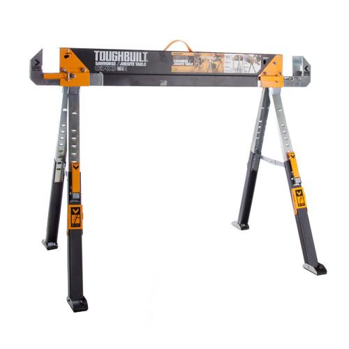 Toughbuilt C700 Saw Horse Adjustable Jobsite Table x 1 - 1