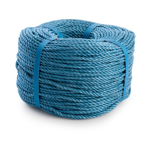Blue Polypropylene Rope - 6mm x 220 Metres - 2