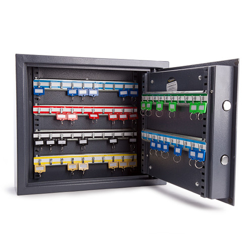 Sterling KC60S Security Cabinet 60 Hooks With LCD Digital Lock - 3