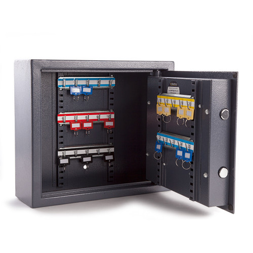 Sterling KC25S Security Cabinet 25 Hooks With LCD Digital Lock - 3