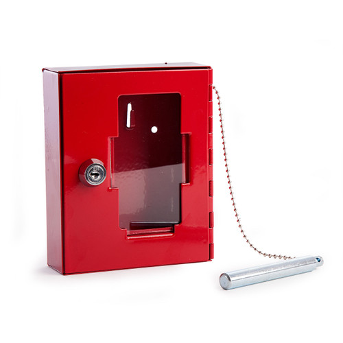 Sterling EB01 Red Emergency Key Box and Hammer - 2