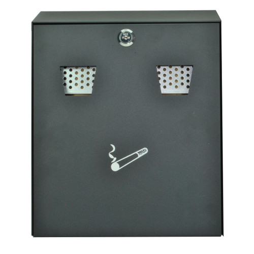 Buy Sterling CIG2BK Cigarette Bin Wall Mounting Black at Toolstop