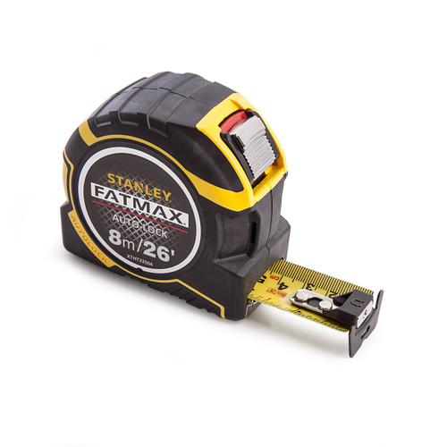 Stanley XTHT0-33504 Fatmax Autolock Tape 8m / 26ft - 3