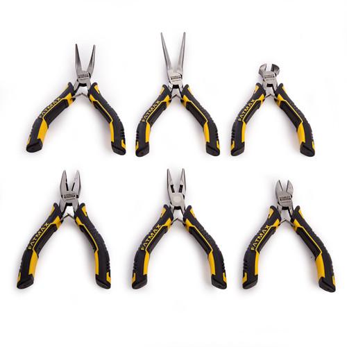 Stanley FMHT0-80541 Fatmax Mini Pliers Combination Set (6 Piece) - 8