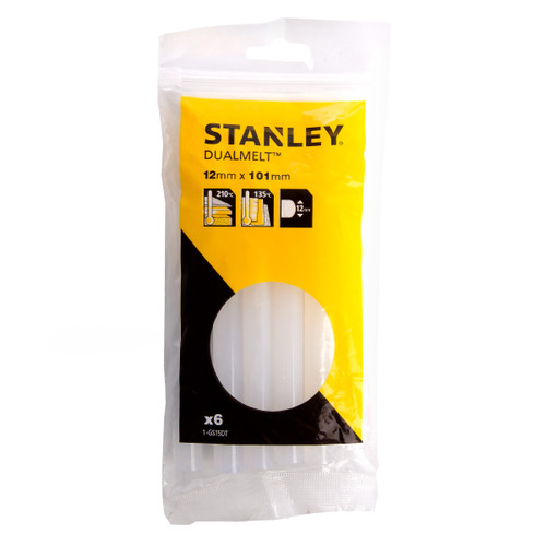 Buy Stanley 1-GS15DT DUALMELT 12mm x 101mm (Pack of 6) at Toolstop