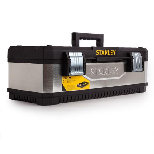 Stanley 1-95-620 Galvanised Metal / Plastic Toolbox 26 Inch - 5