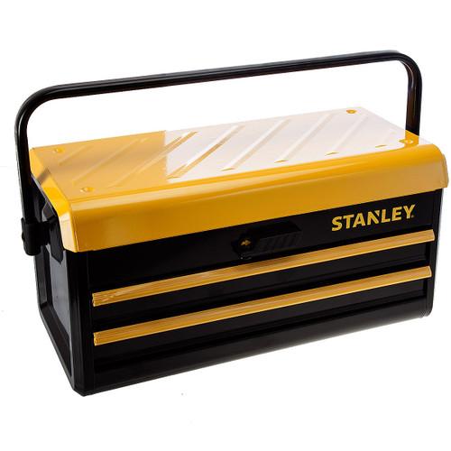 Stanley 1-75-510 Metal 2 Drawer Toolbox - 2