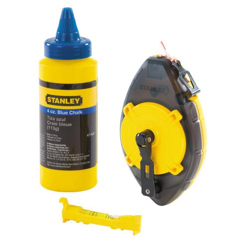 Stanley 0-47-465 PowerWinder Chalk Box 3 Piece Set - Blue Chalk - 1