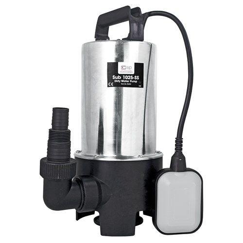 Buy SIP 06885 Sub 1025-SS Dirty Water Pump at Toolstop