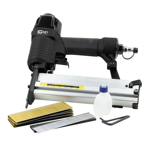SIP 06771 2-in-1 Air Nailer/Stapler Kit - 1