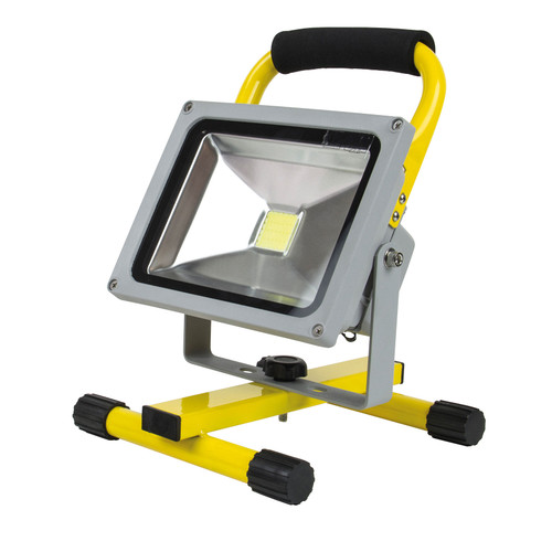 Buy SIP 06489 Cordless SMD LED Floodlight (20w) 240V at Toolstop