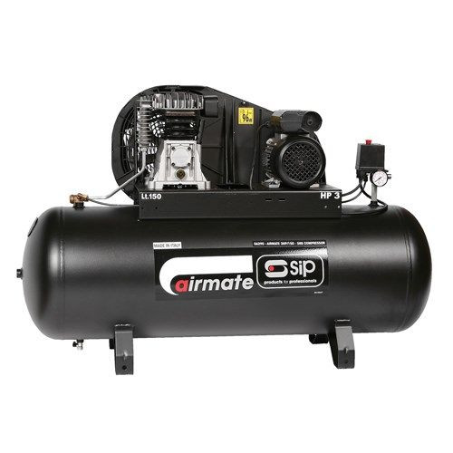 Buy SIP 06290 3HP/150-SRB Air Compressor for GBP452.23 at Toolstop