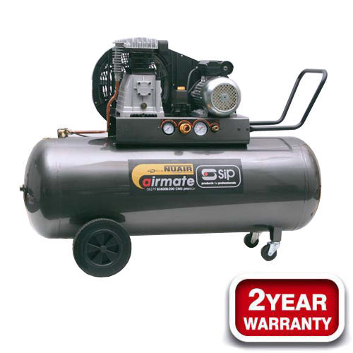 Buy SIP 06284 Airmate PNB 3800B/200 Pro-Tech Compressor 240V at Toolstop