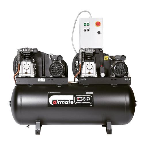 Buy SIP 05251 Airmate B3800/270 Tandem Compressor at Toolstop