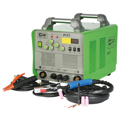 Buy SIP 05162 Weldmate T177 AC/DC TIG/ARC Inverter Welder at Toolstop
