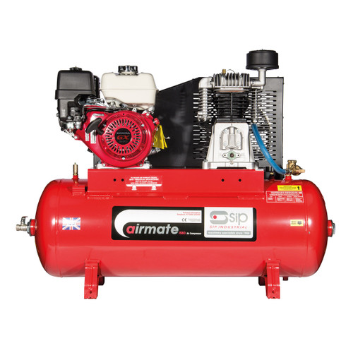 Buy SIP 04450 ISHP5.5/150 Airmate Industrial Super Petrol Compressor with Honda Engine 150L at Toolstop