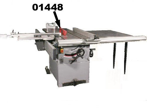 """Buy SIP 01448 Rear Table Extension for 01446 12""""/304mm Cast Iron Table Saw at Toolstop"""