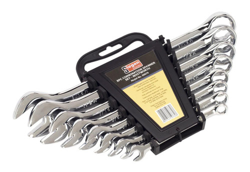 Buy Siegen S0870 Combination Spanner Set (8 Piece) at Toolstop