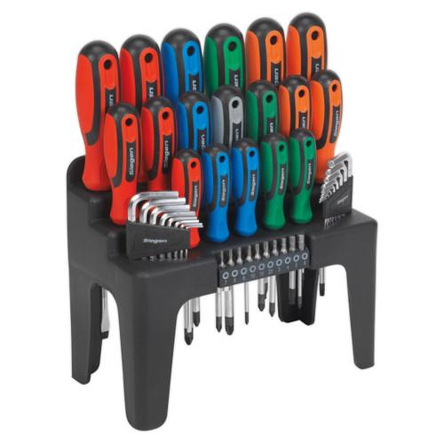 Buy Siegen S01090 Screwdriver, Hex Key & Bit Set (44 Piece) for GBP15.83 at Toolstop