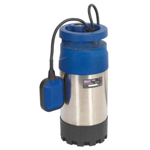 Buy Sealey WPS92A Submersible Stainless Water Pump Automatic 92ltr/min 40mtr Head 240V at Toolstop