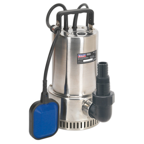Buy Sealey WPS250A Submersible Stainless Water Pump Automatic 250ltr/min 240V at Toolstop