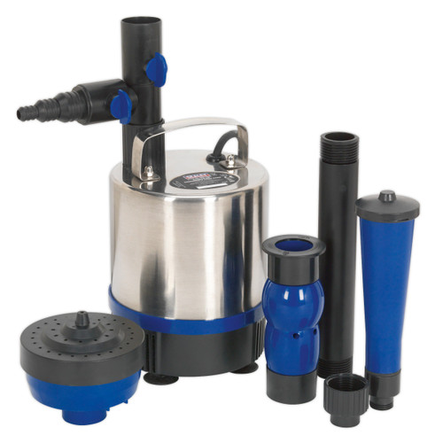 Buy Sealey WPP3600S Submersible Pond Pump Stainless Steel 3600ltr/hr 240V at Toolstop